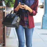Sombreros en otoño: El perfecto accesorio Jessica Alba